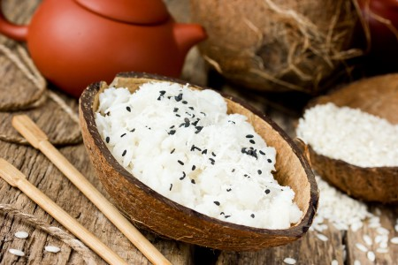 Crème hyperprotéinée Coco avec Pépites de Chocolat  SANS GLUTEN (7 sachets)