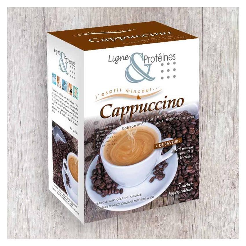 Cappuccino hyperprotéiné (7 sachets)