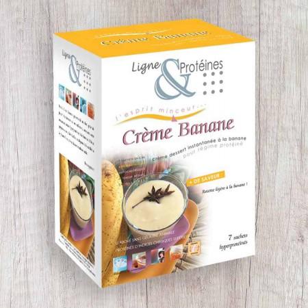 Crème Banane hyperprotéinée (7 sachets)