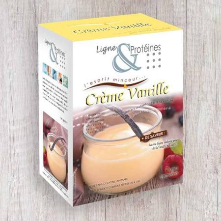Crème Vanille hyperprotéinée (7 sachets)