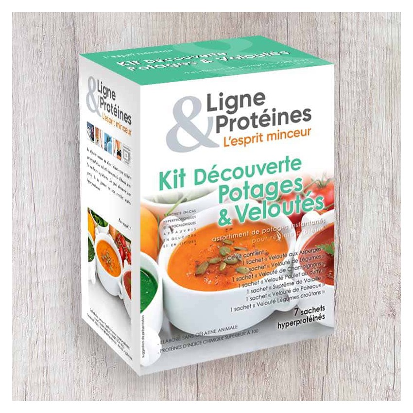 Kit Découverte Les Potages & Veloutés (7 sachets)