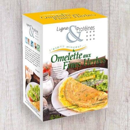 Omelette aux Fines Herbes hyperprotéinée (7 sachets)