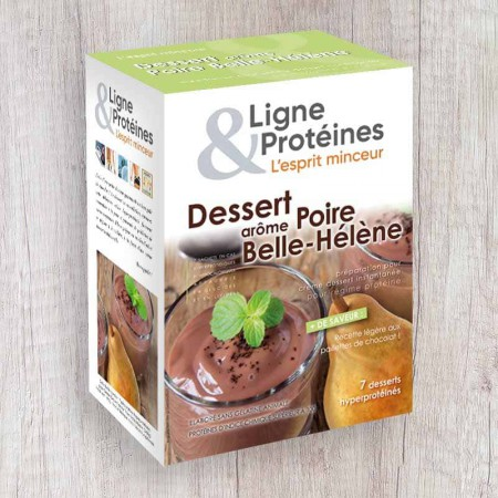 Poire Belle Hélène hyperprotéinée (7 sachets)