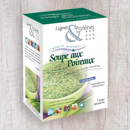 Soupe aux Poireaux hyperprotéinée (7 sachets)