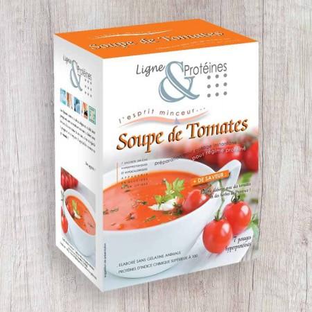 Velouté de Tomates hyperprotéiné (7 sachets)