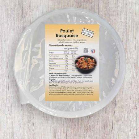 Poulet Basquaise Hyperprotéiné (plat cuisiné)