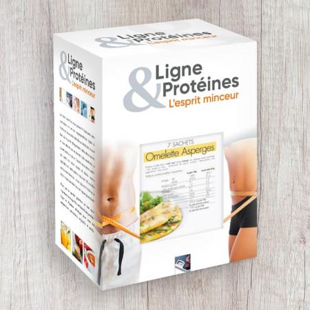 Omelette aux Asperges Hyperprotéinée (7 sachets)