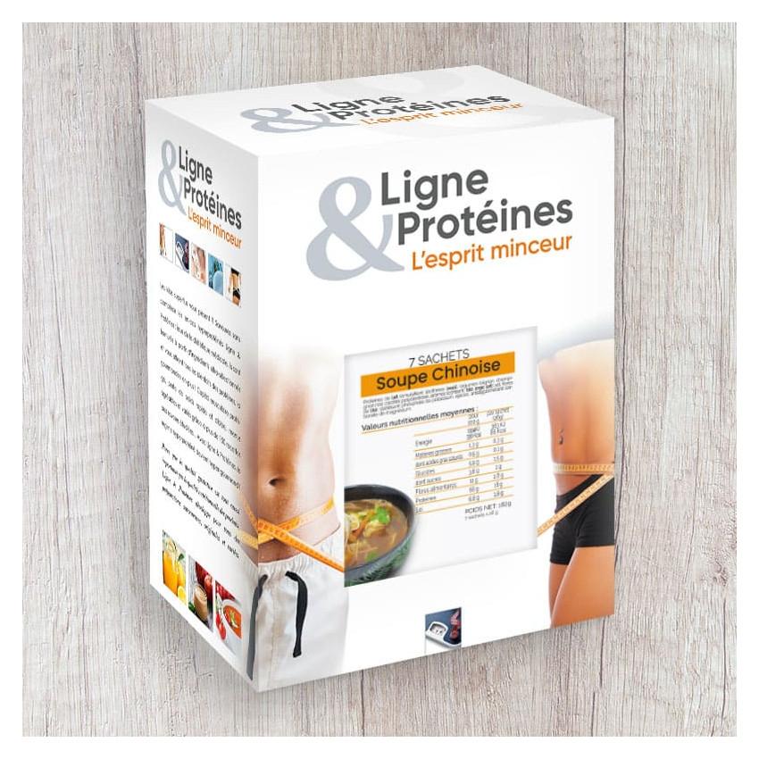 Soupe Chinoise hyperprotéinée (7 sachets)