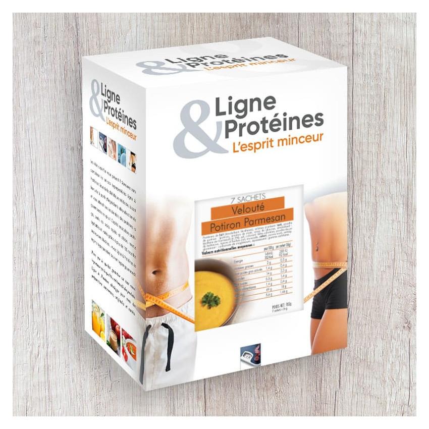 Velouté Potiron-Parmesan Hyperprotéiné (7 sachets)