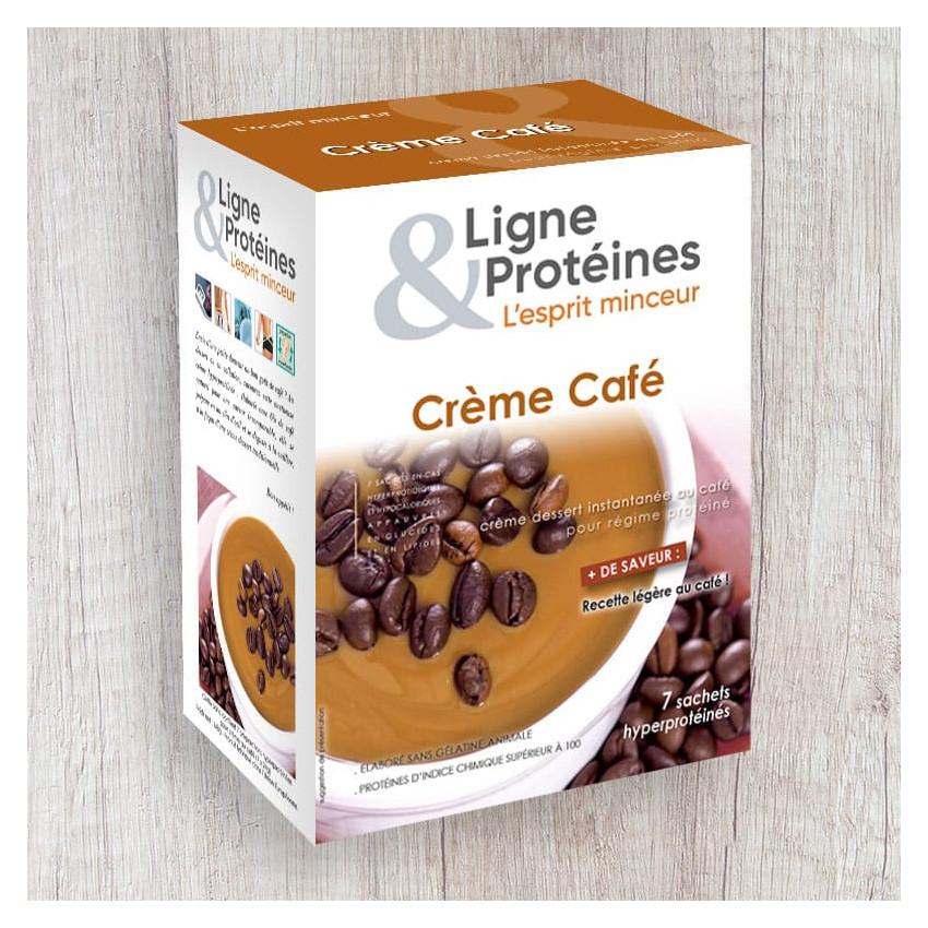 Crème Café hyperprotéinée (7 sachets)