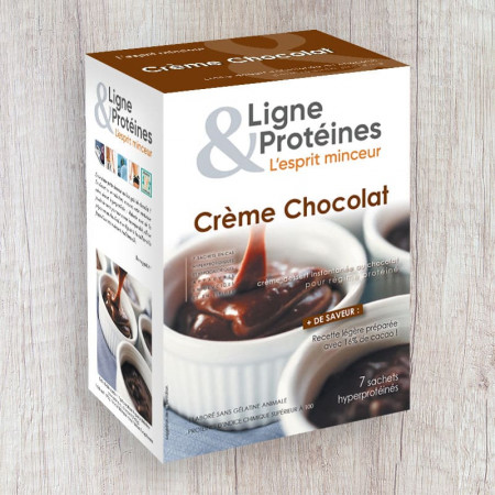 Crème Chocolat hyperprotéinée (7 sachets)