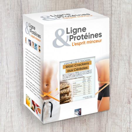 Mini baguettes croustillantes hyperprotéinées (sachet individuel)