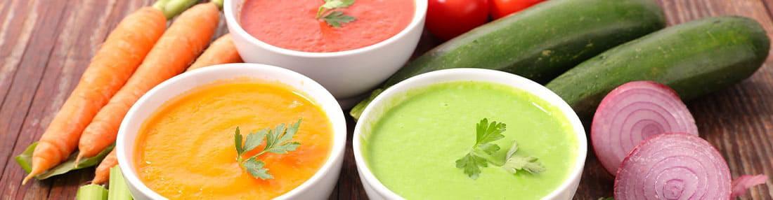 Potages, Veloutés et Soupe Hyperprotéinés pour vos repas minceur équilibrés